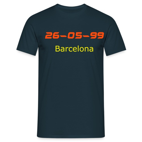 26 5 99 barcelona - Men's T-Shirt