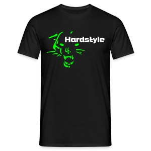 Best Seller!!! Hardstyle Wild Cat (noir 2) - T-shirt Homme