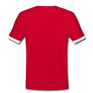 T-shirt 'soccer' - Mannen contrastshirt
