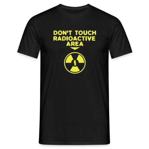 Radioactive area - T-skjorte for menn