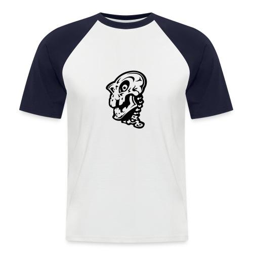 Le démon - T-shirt baseball manches courtes Homme