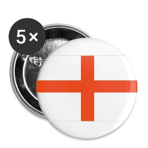 England 2 1/4 Badge - Buttons large 56 mm