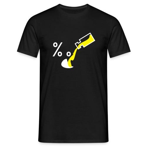saufen - Männer T-Shirt