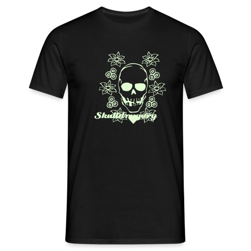 Skulldruggery Glow In the Dark T-Shirt - Men's T-Shirt