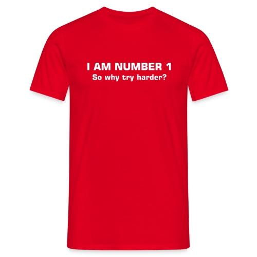 Number 1 - Men's T-Shirt