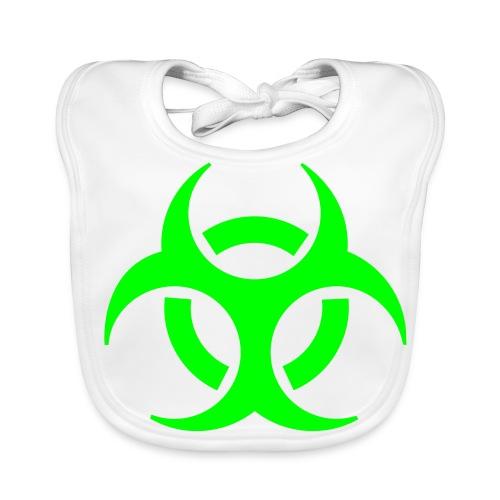 Biological Hazard Bib - Baby Organic Bib