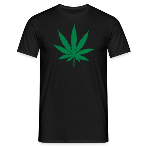 Cannabis Leaf - Men's T-Shirt