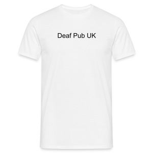 Deaf Pub UK - Men's T-Shirt