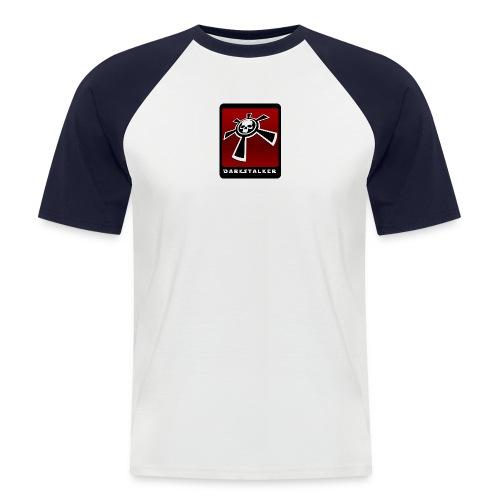 Red-T_Skate - Männer Baseball-T-Shirt