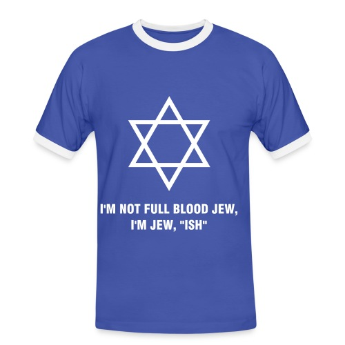 Jew, ish Tee - Men's Ringer Shirt