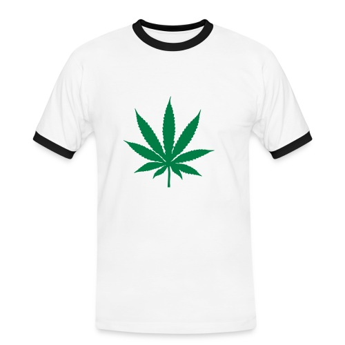 Cannabis Tee - Men's Ringer Shirt