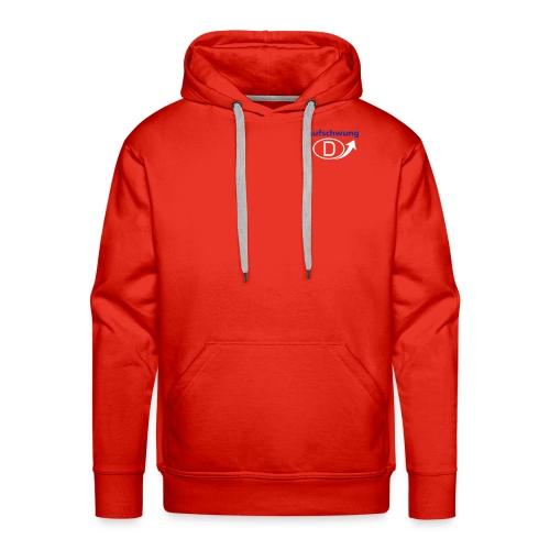 Sweatshirt Aufschwung - Männer Premium Hoodie