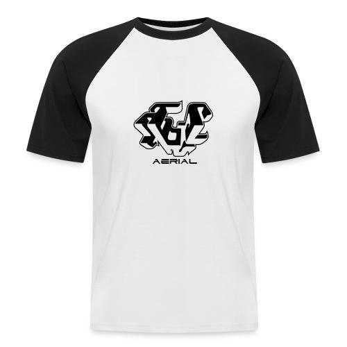 black&white - T-shirt baseball manches courtes Homme