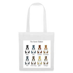 Dutch Rabbit Colours - Tote Bag