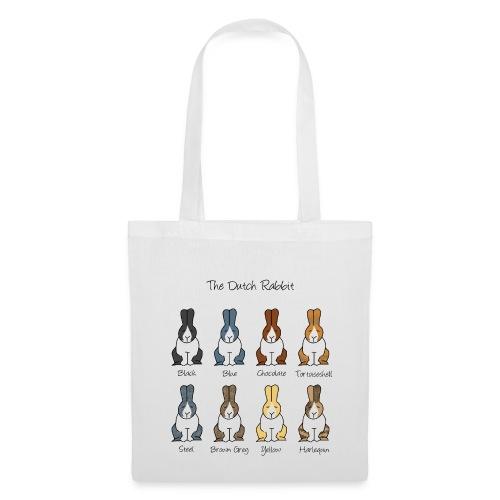 Dutch Rabbit Colours - Tote Bag