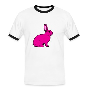 Pink Rabbit - Men's Ringer Shirt