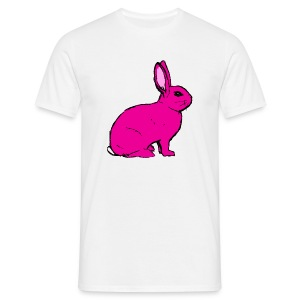 Pink Rabbit - Men's T-Shirt