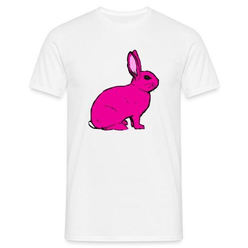 Pink Rabbit - Men's T-Shirt