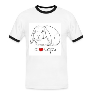 I Love Lops 2 - Men's Ringer Shirt