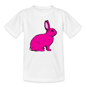 Pink Rabbit - Teenage T-shirt