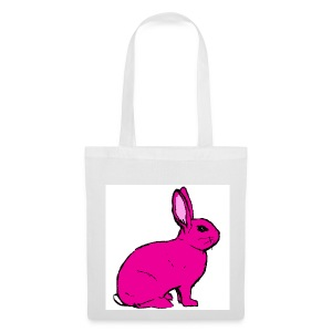 Pink Rabbit - Tote Bag