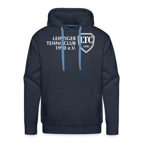 LOGO Kapuzen-Sweater blau - Männer Premium Hoodie
