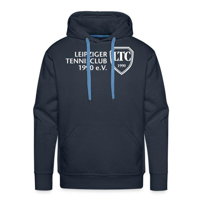 LOGO Kapuzen-Sweater blau