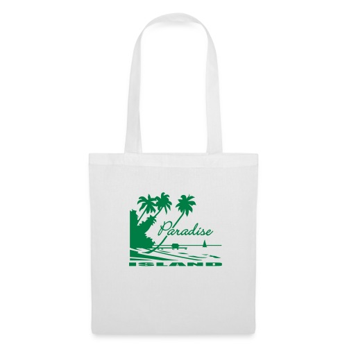 White Paradise - Tote Bag