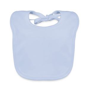 Baby bib your own text, logo or design - Baby Organic Bib