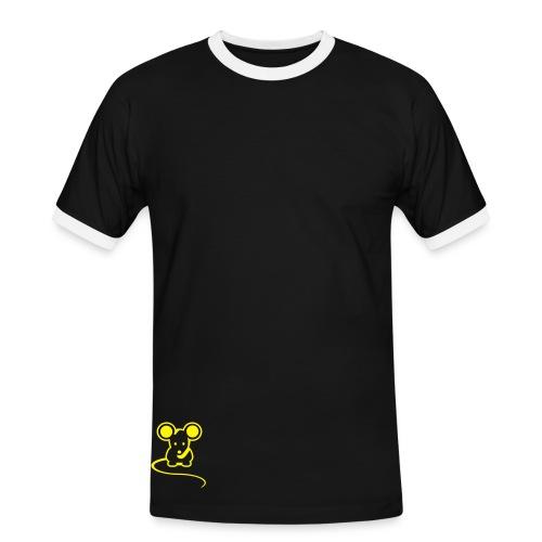 mouse - T-shirt contrasté Homme