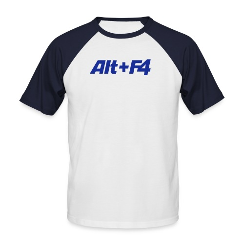 ALT+F4 - Männer Baseball-T-Shirt