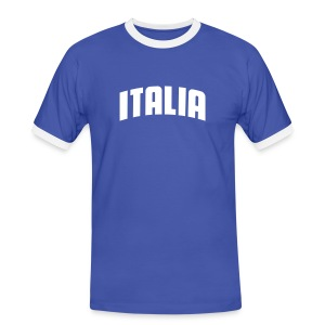 Tee-Shirt Italia Be best 2006 - T-shirt contrasté Homme