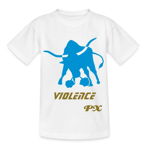 t-shirt kid px blanc - T-shirt Ado