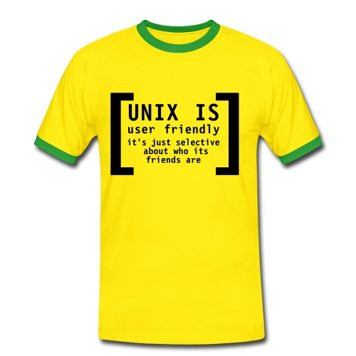 unix - Men's Ringer Shirt