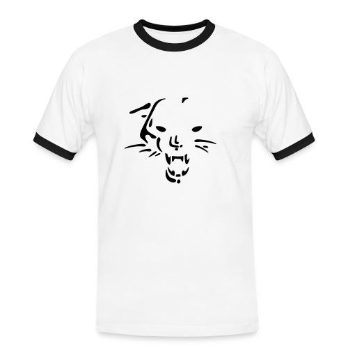 Mens Slim Contrast Tee - Tiger - Maglietta Contrast da uomo