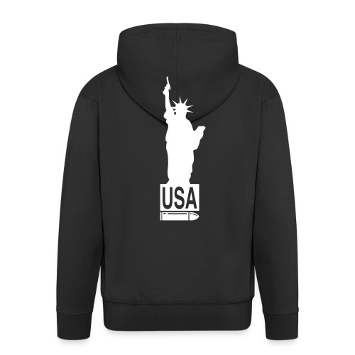 usastaliberty - Men's Premium Hooded Jacket