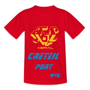 T-shirt enfant px rouge - T-shirt Ado