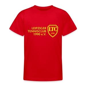 LOGO Kids rot - Teenager T-Shirt