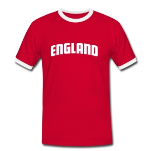 Mens Slim England - Men's Ringer Shirt