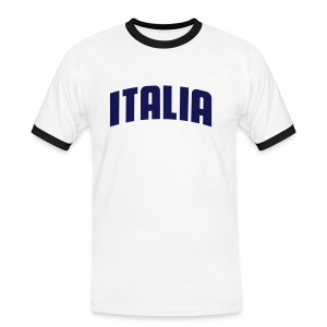 Mens Slim Italia - Men's Ringer Shirt