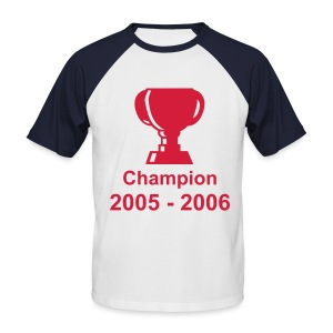 T-shirt Champion 2005 - 2006 Homme - T-shirt baseball manches courtes Homme