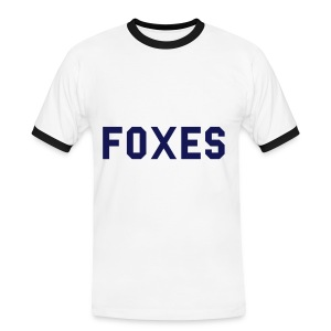 Mens Retro Foxes Tee - Men's Ringer Shirt