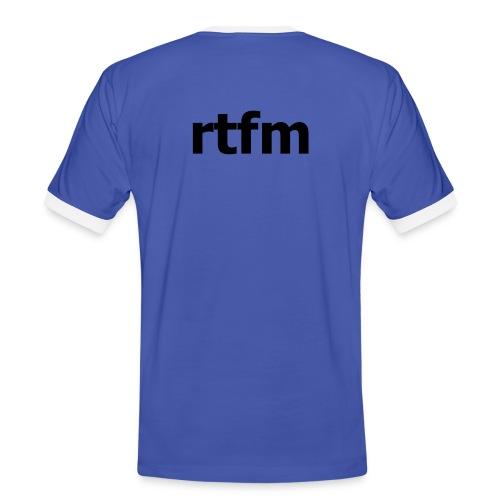 RTFM - Men's Ringer Shirt