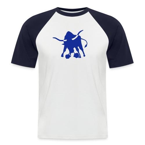 Test - Männer Baseball-T-Shirt