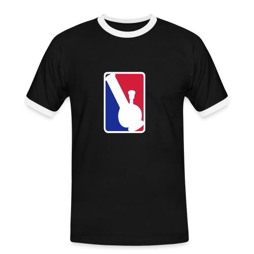 Bong League - Contrast Tee (Nera) - Maglietta Contrast da uomo