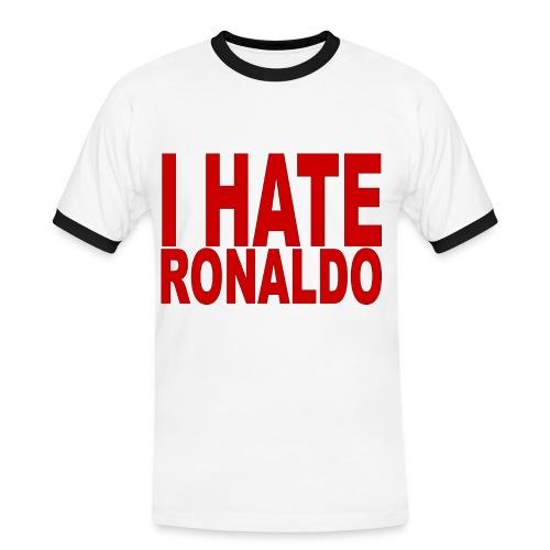 I Hate Ronaldo Shirt - Men's Ringer Shirt