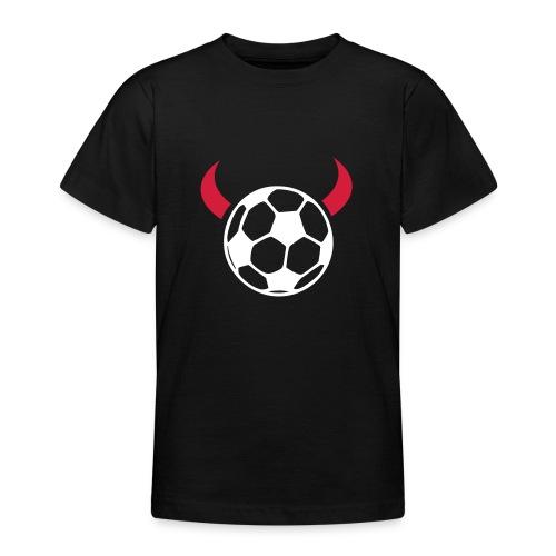 Självlysande djävulsboll - T-shirt tonåring