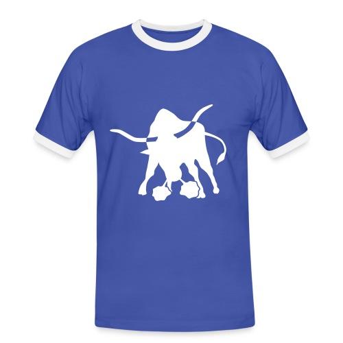 Bulle Shirt - Männer Kontrast-T-Shirt