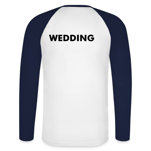 WEDDING (Berlin) Baseball Shirt - Männer Baseballshirt langarm
