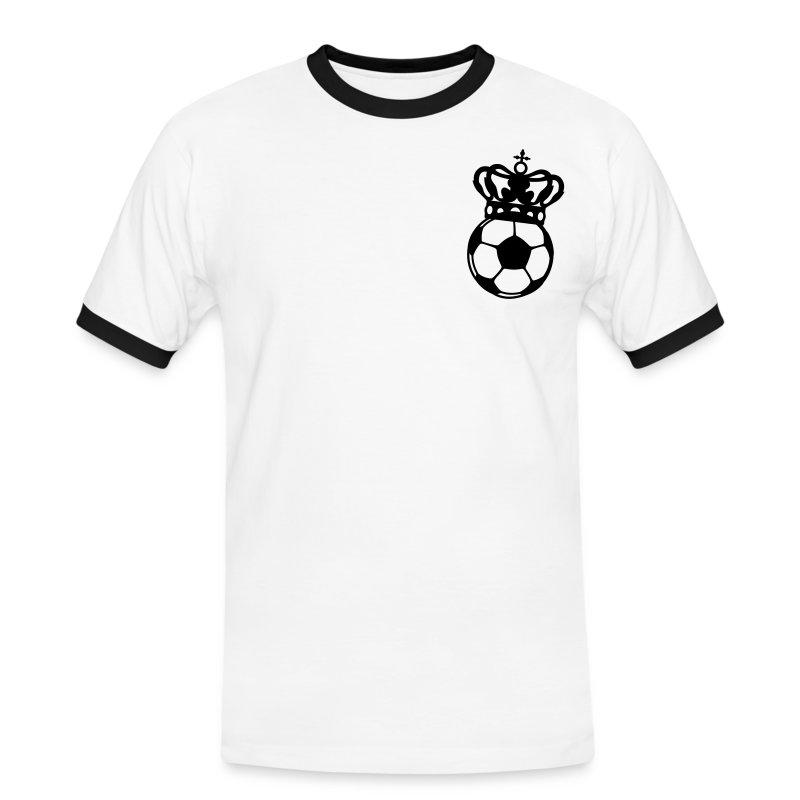 VOM FEINSTEN - Männer Kontrast-T-Shirt